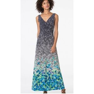 ⭐️Host pick ⭐️Chaps Sleeveless Summer Maxi Dress